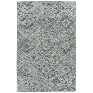 Radiance Gray and Charcoal 3 Ft. 6 In. x 5 Ft. 6 In. Area Rug