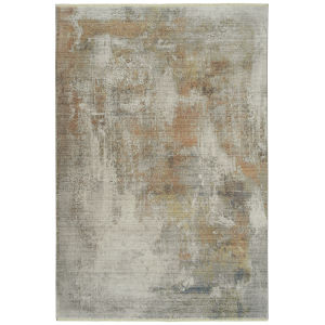Scottsman Brown Multicolor Rectangular: 7 Ft.10 In. x 10 Ft.10 In. Rug