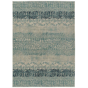 Zuma Beach Blue Rectangular: 5 Ft.3 In. x 7 Ft.3 In. Rug