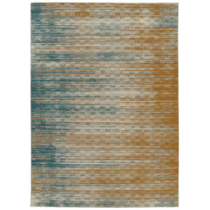 Zuma Beach Gold Rectangular: 5 Ft.3 In. x 7 Ft.3 In. Rug