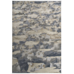 Global Altitude Beige and Gray 5 Ft. 3 In. x 7 Ft. 3 In. Area Rug