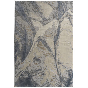 Global Altitude Beige and Taupe 5 Ft. 3 In. x 7 Ft. 3 In. Area Rug