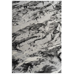 Global Altitude Black and Gray 9 Ft. 3 In. x 12 Ft. Area Rug