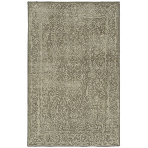 Knotted Earth Mocha and Cream 2 Ft. x 3 Ft. Throw Rug
