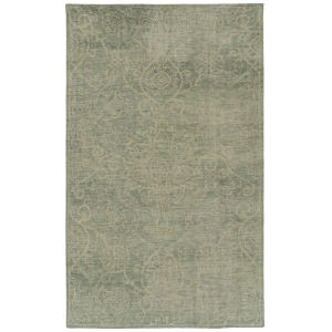 Knotted Earth Mint 4 Ft. x 6 Ft. Area Rug