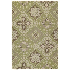 Habitat Courtyard Wasabi Square: 5 Ft. 9 In. x 5 Ft. 9 In. Rug