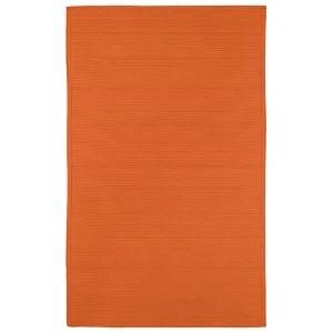 Bikini Orange Rectangular: 5 Ft. x 8 Ft. Rug