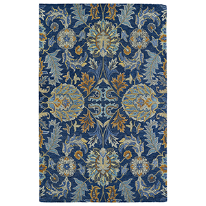 Helena Blue Hand Tufted 5Ft. x 7Ft. 9In Rectangle Rug