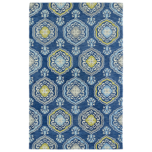 Helena Blue Hand Tufted 9Ft. x 12Ft. Rectangle Rug