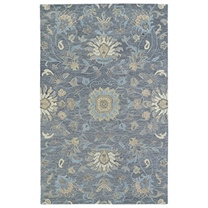 Helena Graphite Hand Tufted 5Ft. x 7Ft. 9In Rectangle Rug