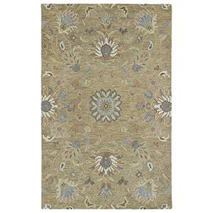 Helena Lt. Brown Hand Tufted 9Ft. x 12Ft. Rectangle Rug