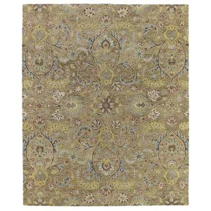 Helena Collection Athena Gold Rectangular: 5 Ft. x 7 Ft. 9 In. Rug