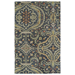 Helena Pewter Hand Tufted 10Ft. x 14Ft. Rectangle Rug
