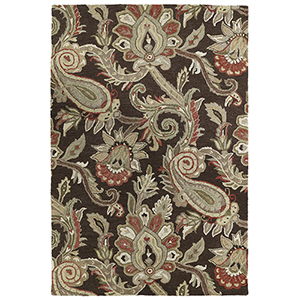 Helena Chocolate Hand-Tufted 2Ft. 6In x 12Ft. Runner Rug