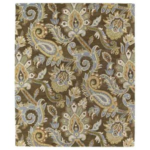 Helena Collection Odyusseus Brown Rectangular: 5 Ft. x 7 Ft. 9 In. Rug