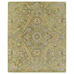 Helena Collection Virgil Green Rectangular: 5 Ft. x 7 Ft. 9 In. Rug