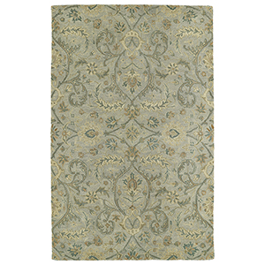 Helena Silver Hand-Tufted 2Ft. 6In x 12Ft. Runner Rug