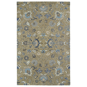 Helena Lt. Brown Hand Tufted 5Ft. x 7Ft. 9In Rectangle Rug
