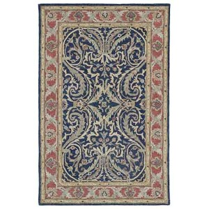 Solomon Tyre Blue Rectangular: 5 Ft. x 7 Ft. 9 In. Rug