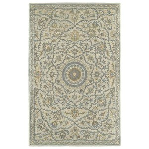Solomon Nehemiah Ivory Rectangular: 5 Ft. x 7 Ft. 9 In. Rug