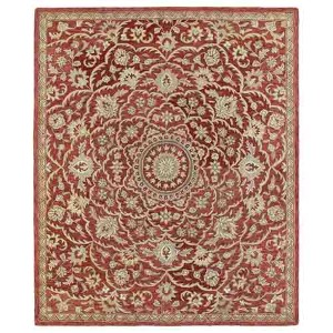 Solomon Nehemiah Red Rectangular: 5 Ft. x 7 Ft. 9 In. Rug