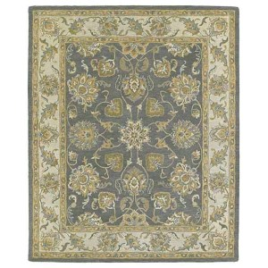 Solomon Ezekial Pewter Rectangular: 5 Ft. x 7 Ft. 9 In. Rug