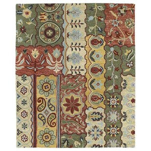 Brooklyn Lizbeth Gold Rectangular: 5 Ft. x 7 Ft. 6 In. Rug