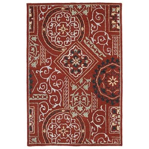 Brooklyn Xander Red Rectangular: 5 Ft. x 7 Ft. 6 In. Rug