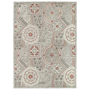 Brooklyn Xander Pewter Rectangular: 5 Ft. x 7 Ft. 6 In. Rug