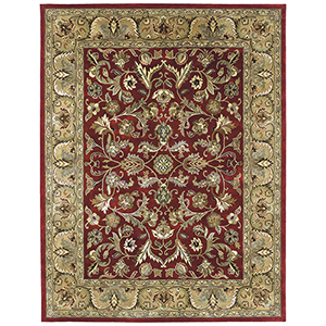 Mystic Red Hand Tufted 5Ft. X 7Ft. 9In Rectangle Rug