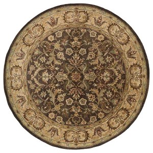 Mystic Chocolate Round: 9 Ft. 9 In. Rug