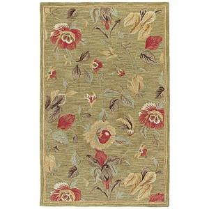Khazana Olive Rectangular: 9 Ft. 6 In. x 13 Ft. Rug