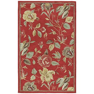Khazana Red Rectangular: 9 Ft. 6 In. x 13 Ft. Rug