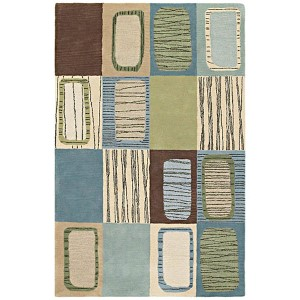 Khazana Glacier Rectangular: 9 Ft. 6 In. x 13 Ft. Rug