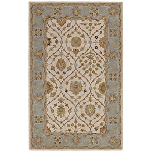 Khazana Jefferson Linen Rectangular: 5 Ft. x 7 Ft. 9 In. Rug