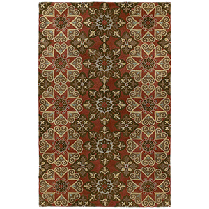 Mystic Salsa Hand Tufted 5Ft. 9In Round Rug