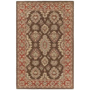 Khazana Coffee Rectangular: 9 Ft. 6 In. x 13 Ft. Rug