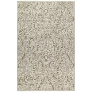 Khazana Teresa Ivory Rectangular: 5 Ft. x 7 Ft. 9 In. Rug