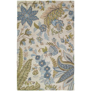 Khazana Bali Ivory Rectangular: 5 Ft. x 7 Ft. 9 In. Rug