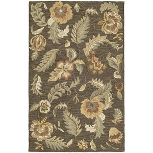 Khazana Hana Charcoal Rectangular: 5 Ft. x 7 Ft. 9 In. Rug
