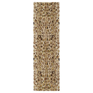 Khazana Mocha Runner: 2 Ft. 3 In. x 7 Ft. 6 In. Rug