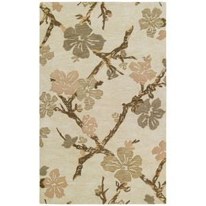 Calais Dogwood Linen Rectangular: 5 Ft. x 7 Ft. 9 In. Rug