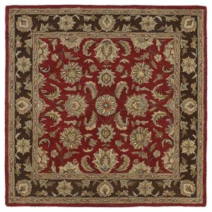 Tara Square Salsa Square: 11 Ft. 9 In. x 11 Ft. 9 In. Rug