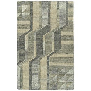 Alzada Brown Hand-Tufted 5Ft. x 7Ft. 9In Rectangle Rug
