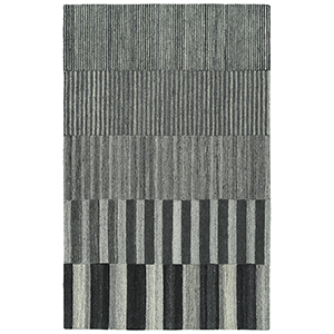 Alzada Charcoal Hand-Tufted 2Ft. 6In x 8Ft. Runner Rug