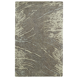 Brushstrokes Brown Hand-Tufted 9Ft. 6In x 13Ft. Rectangle Rug