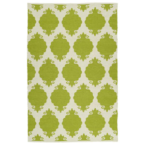 Brisa Wasabi and Ivory Rectangular: 2 Ft x 3 Ft Rug