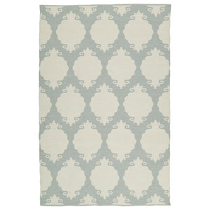 Brisa Grey and Ivory Rectangular: 2 Ft x 3 Ft Rug