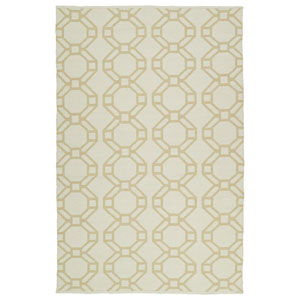 Brisa Ivory and Khaki Rectangular: 2 Ft x 3 Ft Rug