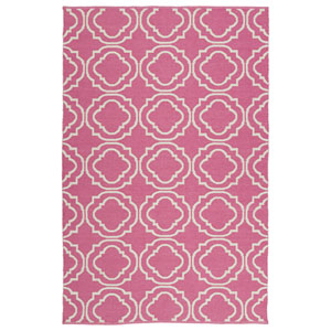 Brisa Pink and Ivory Rectangular: 2 Ft x 3 Ft Rug